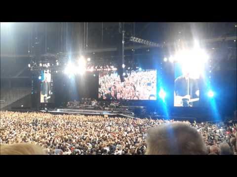 Bruce Springsteen - Live @ Friends Arena, Stockholm, Sweden. May 4th 2013