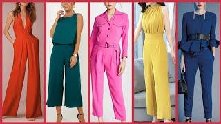Plain Jumpsuits design ideas for ladies Casual wear 2020 // Jumpsuit designs for girls 2k20