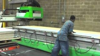 Grooving for miter-folding