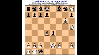 Napad sa svih strana prava apokalipsa na šahovskoj tabli  ~ MOODY vs SMITH # 1324