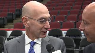 BullsTV sits down with NBA Commissioner Adam Silver