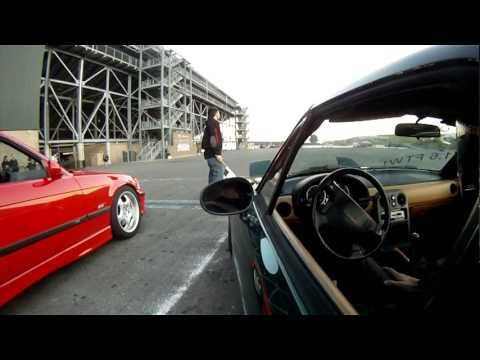 The Low Budget Crew 1.6 FTW! Miata Sonoma Drift Run