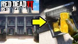 SECRET GOLD STASH YOU DONT KNOW ABOUT IN RED DEAD REDEMPTION 2! Easy Money in RDR2!