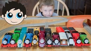 Thomas and Friends TrackMaster Train Collection Fastest Engine Competition - Kinder Playtime
