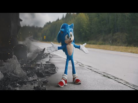 Sonic (2020) - Music Video -  Without You - Avicii - Sandro Cavazza