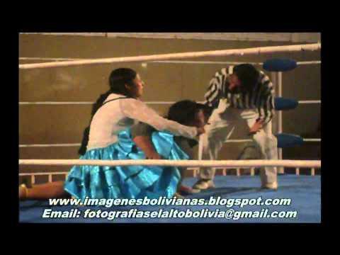 Bolivia Cholitas Luchadoras