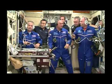 Expedition 39 40 Crew Opens Hatch to the International Space Station