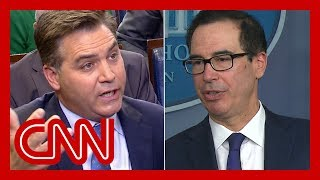 Mnuchin to Jim Acosta: That's the most ridiculous question