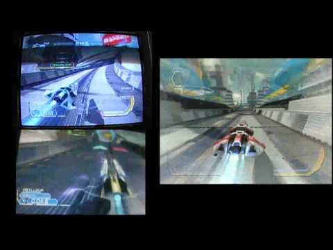 WipEout HD: ANZAC vs France 3 Part 1 - Weapons On - Phantom