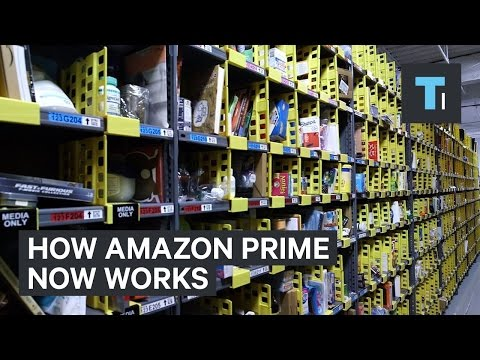 How Amazon Prime Now works