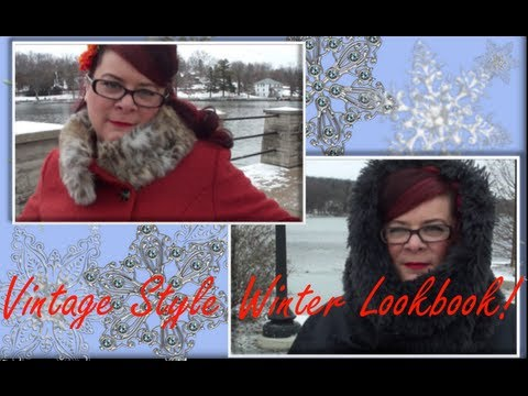 Vintage Style Winter Lookbook