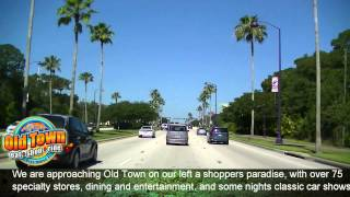Driving Highway 192 Kissimmee Florida