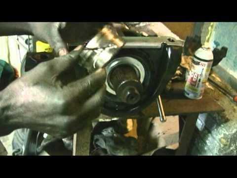 Semi Truck  Driveshaft Hanger Replacement