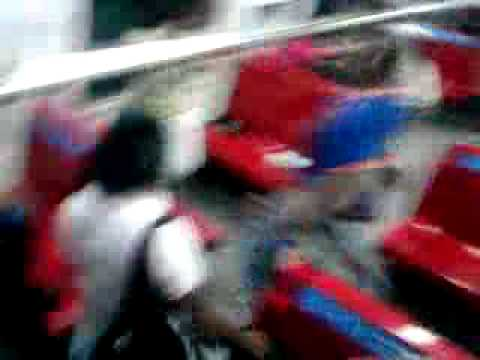pelea en el ferro estacion charallave sur