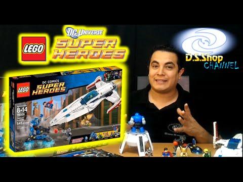 Videos LEGO Superman 76028 La Invasión de Darkseid Review Lego Español Revision Liga de la Justicia