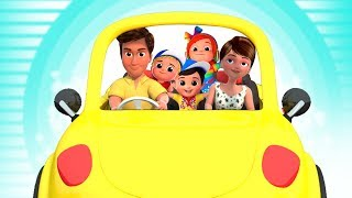 Driving Down The Road | Nursery Rhymes & Children Songs | Junior Squad Cartoons For Kids
