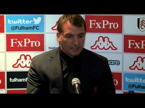 Brendan Rodgers after Fulham v Liverpool  12.5.2013 - Edit