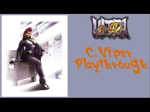 Ultra Street Fighter IV - C Viper Arcade Mode Playthrough