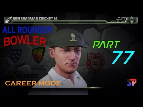 Don Bradman Cricket 14 Career Mode Epi 77 IPL FINAL