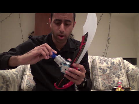 Deluxe Super Mega Saber Review [Power Rangers Super Megaforce]