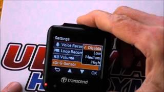 Transcend Drivepro 100 dashcam review