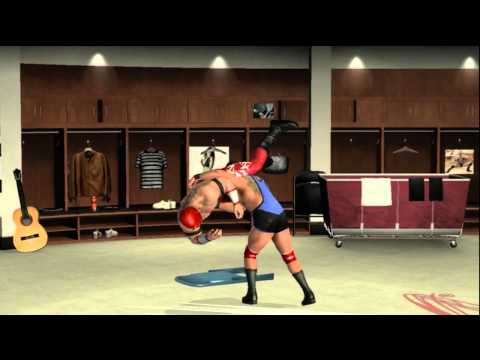 WWE Smackdown Vs Raw 2010 Road To Wrestlemania: CAW Pt.2