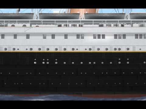 RMS Titanic for Virtual Sailor 7  Then  Now
