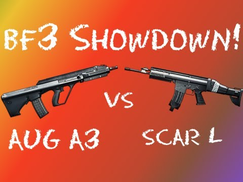 BF3 Showdown - AUG A3 vs SCAR-L