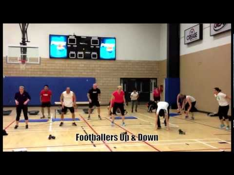 Circuit Training Big Groups | Advanced | AXFIT Image 1