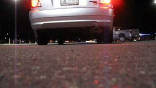 03 hyundai accent exhaust rev and fly by
