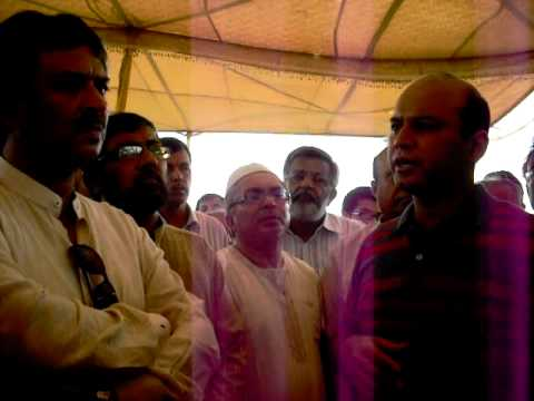mqm town nazim gulshan town karachi  with mna godil (na 252)