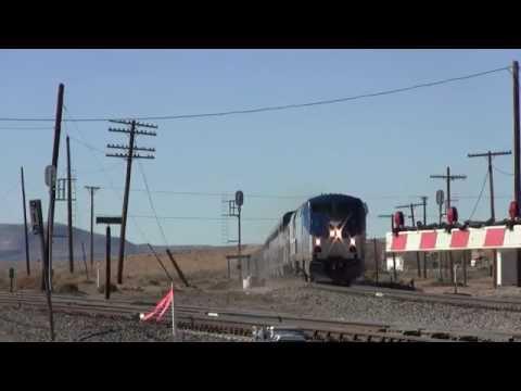 Hi-Def: Amtrak Southwest Chief on the Dalies-Isleta Connector
