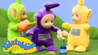 Teletubbies Full Animation 💐 Planting Flowers 💐 Stop Motion Series | Toy Store - Toys For Kids