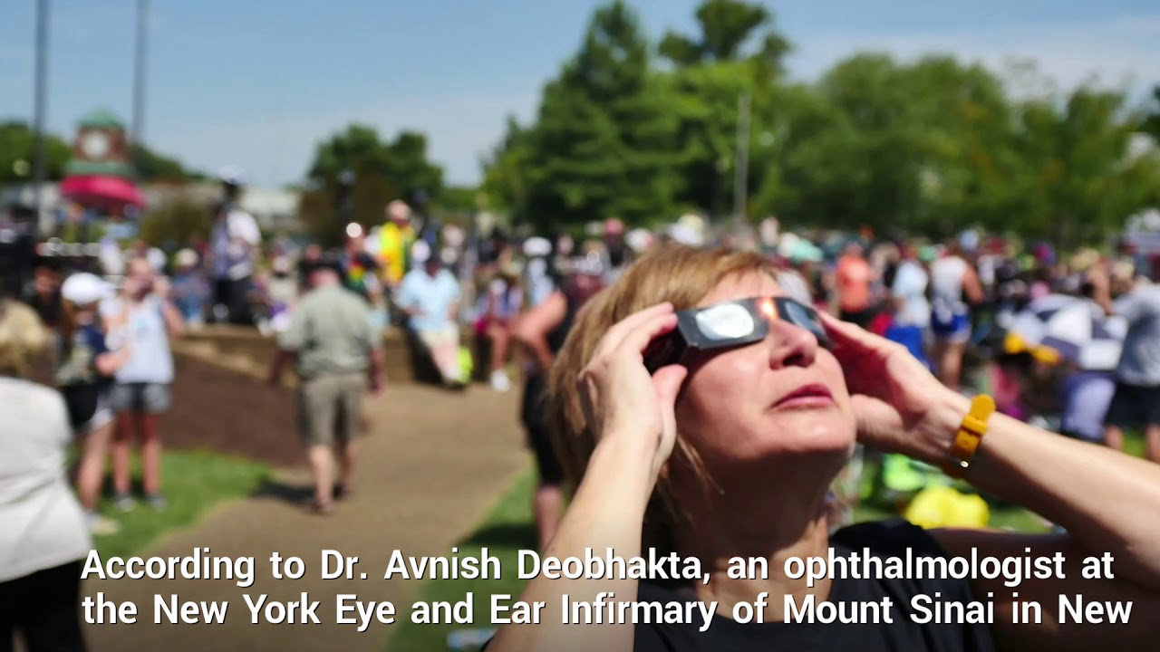 How to tell if you damaged your eyes looking at the eclipse