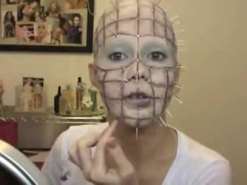 Страшную маску своими руками
