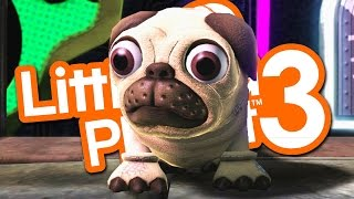 PLAY AS A PUG - CUTEST GAME EVER!!! (Little Big Planet 3)