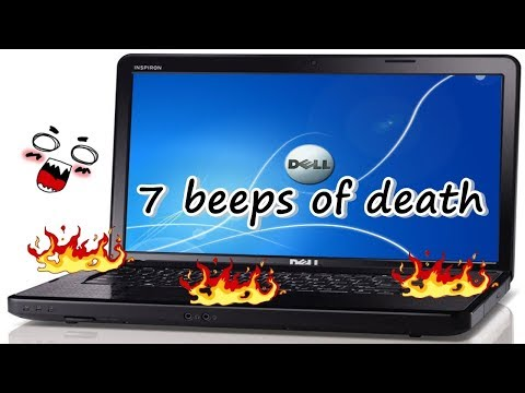 dell inspiron n5030 7 beeps of death how to fix it.