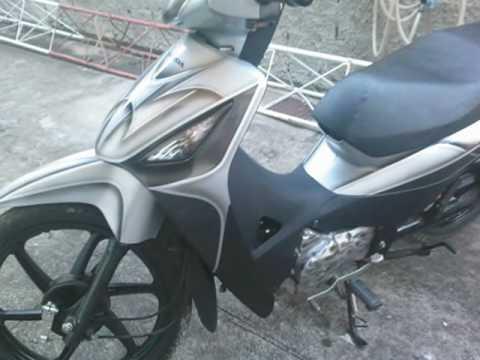Honda Biz 125 rebaixada - pintura personalizada - parte 01