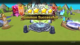 SUMMONERS WAR: toca abrir 55 mystical xD