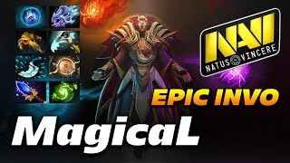 MagicaL Invoker 28 Frags | LONG EPIC GAME | Dota 2 Pro Gameplay