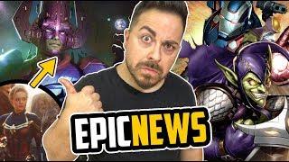¡SECUELA ÉPICA! ¿GALACTUS en Capitana Marvel 2? ¡OSBORN en el UCM! X-MEN vs FANTASTIC FOUR y MÁS