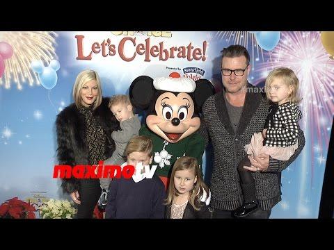 Tori Spelling & Dean McDermott | Disney on Ice Let's Celebrate! Premiere | Red Carpet
