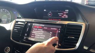 2017 Honda Accord Technology Use