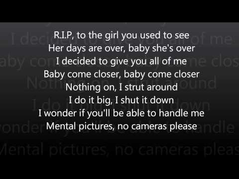 Rita Ora - R.i.p (lyrics) video
