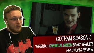 Gotham Season 5 Jeremiah Chemical Green Band Trailer - Reaction & Review