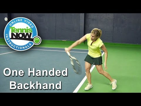 Moves like Federer: How to Hit a One-Handed Backhand