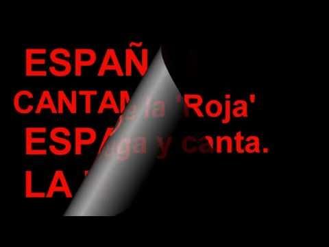 La Roja Baila Letra (Lyric) Sergio Ramos; Niña Pastori; Red One