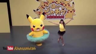 LUCU !!! BADUT Pika Pika Pikachu Balet
