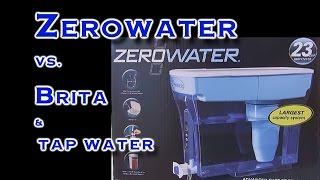 Zero Water Vs  Brita Test