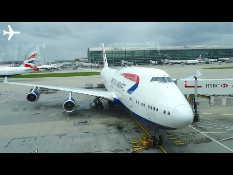 British Airways (New Economy) B747-400 Trip Report & Cabin Review - London to New York